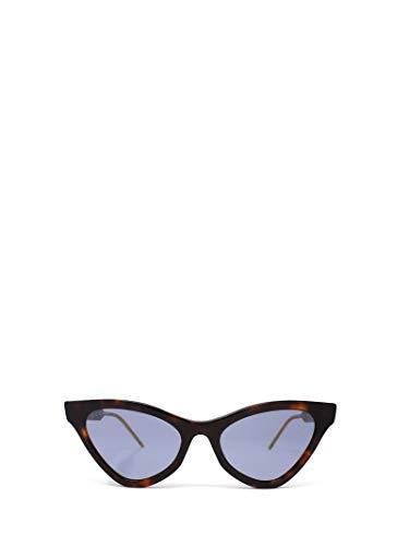 Gucci Luxury Fashion GG0597S002 - Gafas de sol para mujer, color marrón