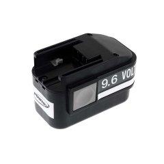 POWERY Batteria per Atlas Copco trapano avvitatore PES 9,6