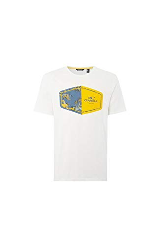 O'NEILL LM Marco Camiseta de Manga Corta, Hombre, Blanco (Powder White), M