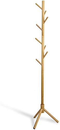 Deluxe Wooden Coat Rack Tree