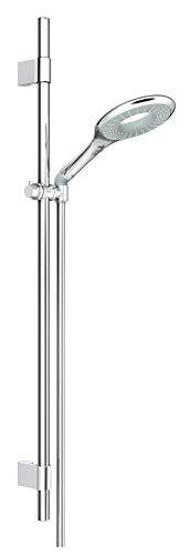 Grohe Rainshower Icon 150 Brausestangenset 900mm, 2 Strahlarten, variable Bohrlöcher zur Befestigung, chrom