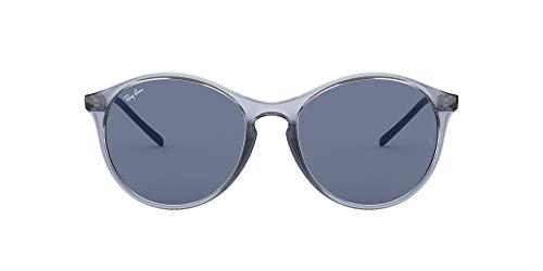 Ray-Ban 0RB4371 Gafas de sol, Transparente Blue, 54 para Mujer