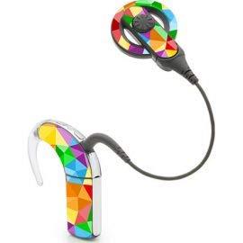 Nucleus 5 cochleair implantaat Stickers Voetbal Regenboog