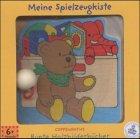 Meine Spielzeugkiste, Holzbilderbuch