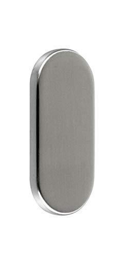 SN-TEC Blindrosette/Abdeckrosette/Schieberosette Blind oval 6mm Edelstahl VA