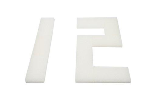 LTWHOME Compatible en Mousse Filtration Convient pour Interprété PF3 Interne Filtres(Paquet de 12)