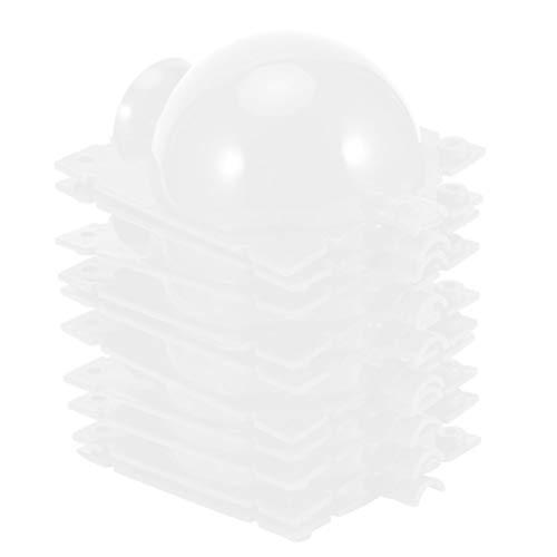 Hoseten Vermehrungsball, Pflanzenwurzelvorrichtung, Pflanzenanbaukasten, Stabiler Rasen für Blumen Home Plant(Transparent)