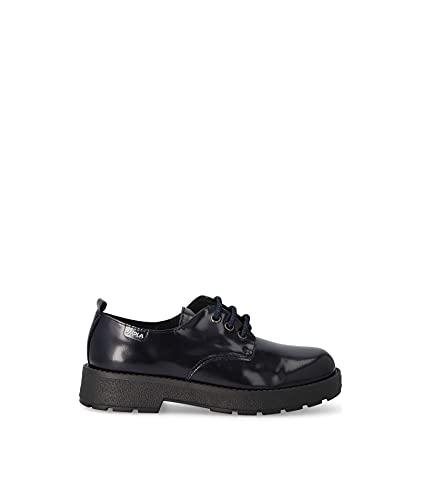 PAOLA 862421, Zapatos de Vestir par Uniforme, Azul, 37 EU