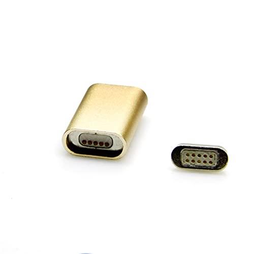 YCKL ESP32 Conector Magnético USB para el Adaptador de Carga de adición magnética ESP8266 USB (Size : A)