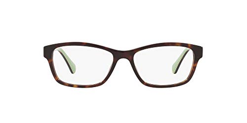 Ralph Lauren RALPH BY 0RA7108 Monturas de gafas, Dark Havana, 52 para Mujer