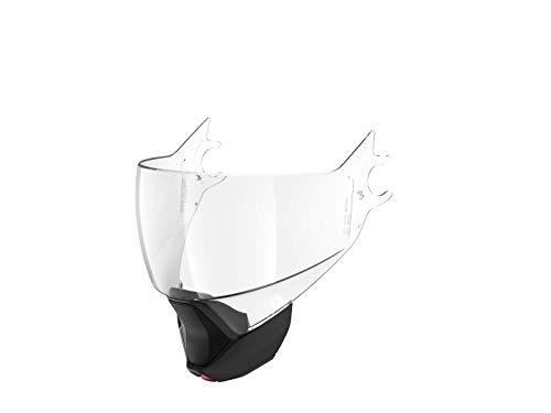 Shark - Pantalla para casco Evojet incolora A.R A.B homologada + barbilla negra mate