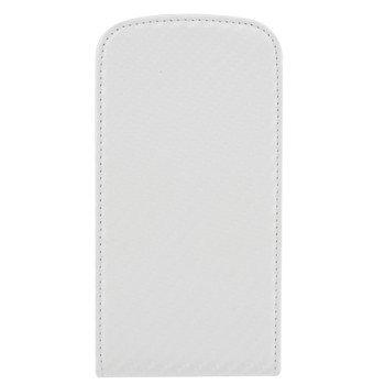 Colorfone Hama Carbo Chic-Flip Cover per Samsung Galaxy S3, Neoprene, Bianco