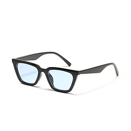 IRCATH Gafas de Sol de Ojo de Gato pequeño clásico para Hombres y Mujeres Gafas Marco de Metal UV400 Adecuado para Conducir Play Play Trekking Party-3 Adecuado para Conducir en la Playa Se Puede util