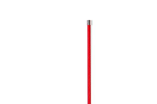 Schmuck Kette lang 59 cm YL04 Rot