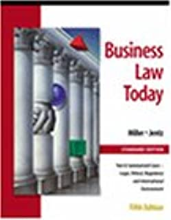 comprar comparacion Business Law Today: Standard Edition : Text & Summarized Cases, Legal, Ethical, Regulatory, and International Environment