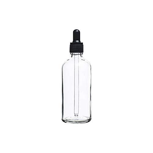 collectsound Bouteille d'huile Essentielle 3 Couleurs vides, Verre, Claire, 50 ML