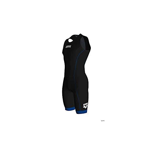 ARENA Herren Triathlon Anzug ST 2.0 mit Rückenreißverschluss Traje de triatlón, Hombre, Black/Royal, Medium