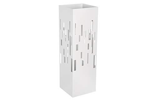 HERSIG - Paraguero Diseño | Paraguero Original de Estilo Moderno Minimalista - Color Blanco