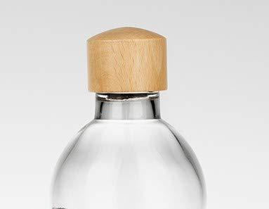 Natures-Design Holzdeckel für Lagoena(0,5)&Thankyou(0,5+0,7) Flasche