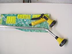 Ensemble darrosage : Une lance florale mtal + Un pistolet arroseur