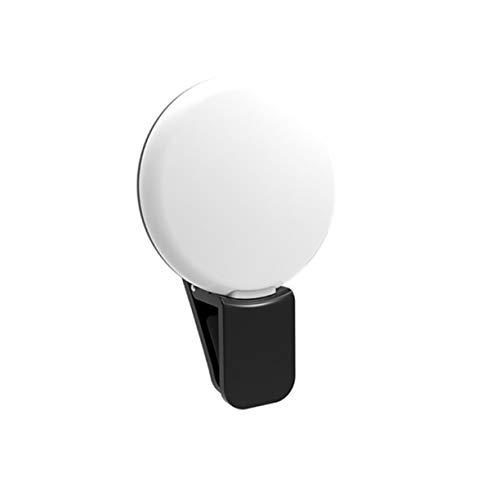 Sagladiolus Selfie LED Ring Blitzlicht Tragbares Telefon Selfie Lampe Leuchtclip Lampe Kamera Fotografie Video Spotlight