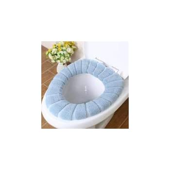 Ruichy Soft Warm Thicken Stretchable Toilet seats Covers viola