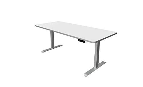 Froschkönig24 Move 3 - Escritorio eléctrico de altura regulable, color blanco, tamaño del tablero: 180 x 80 cm