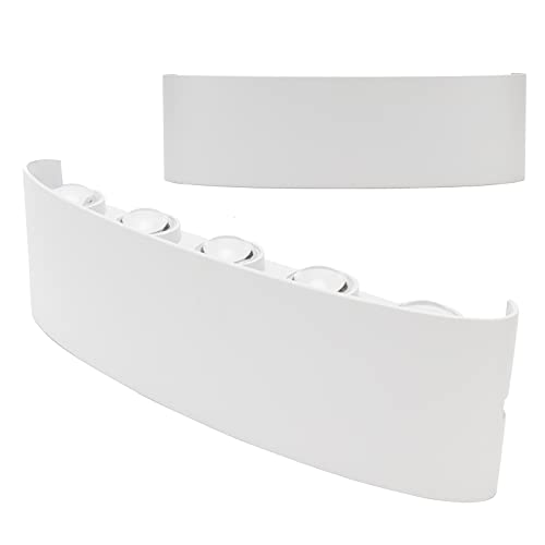 01 Aplique de Pared, Aplique de Pared Impermeable Moderno para Salas de Estar para cocinas para baños