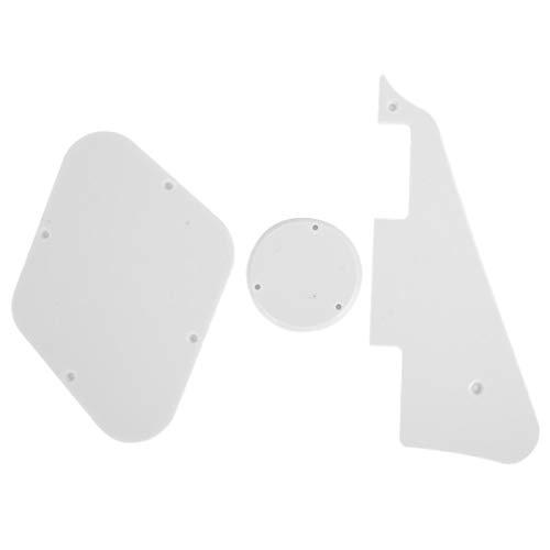 Golpeador de guitarra eléctrica, universal para amantes de la guitarra para LP(white)