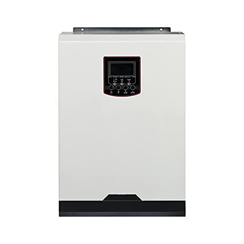 Y&H Onduleur solaire,5.5KW MPPT 100A Onduleur solaire hybrid