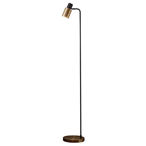 Lámpara de escritorio Lámpara de pie lámpara sala de estar dormitorio nórdico metal americano simple moderno personalidad creativa mesita de noche lámpara poste moderno minimalista sin lámpara de fuen