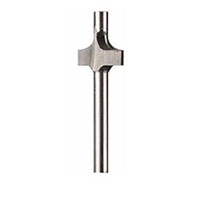 Dremel 615 Fräser (HSS) - Zubehörsatz für Multifunktionswerkzeuge mit 1x Fräser Ø 3,2mm zum Fräsen in Holz und weitere weiche Materialien