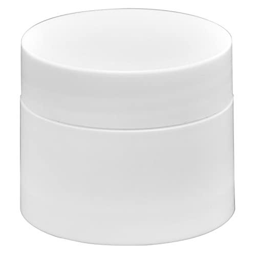 Récipient à Crème, 10 Pièces 10g Pots Transparents Vides Ronds avec Couvercle Récipient à Pommade Lotion Crème pour Hôtel de Voyage