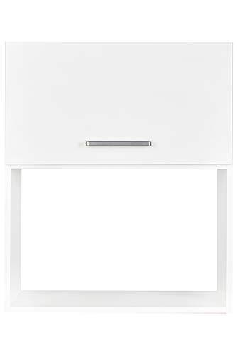 nobilia elements Küchenschrank Wandschrank mit Tür für Einbau-Mikrowelle 60 cm