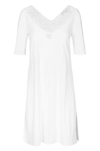 Rösch FÉRAUD Couture 3191222 - Elements - Nachthemd mit edlen Stickereien 36 White