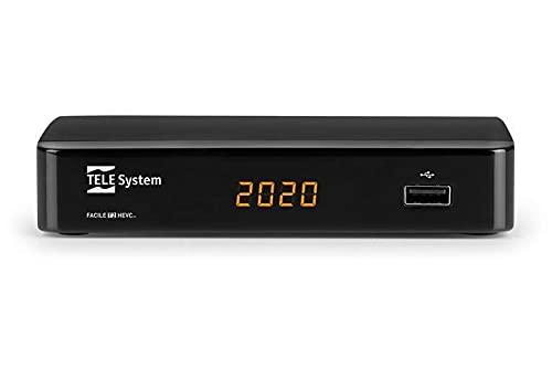 Decoder facile 01 nopvr Telesystem 21005313 DVB-T2