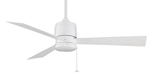 Fanimation FP4640WH ventilador de techo Zonix Wet, blanco, para el exterior