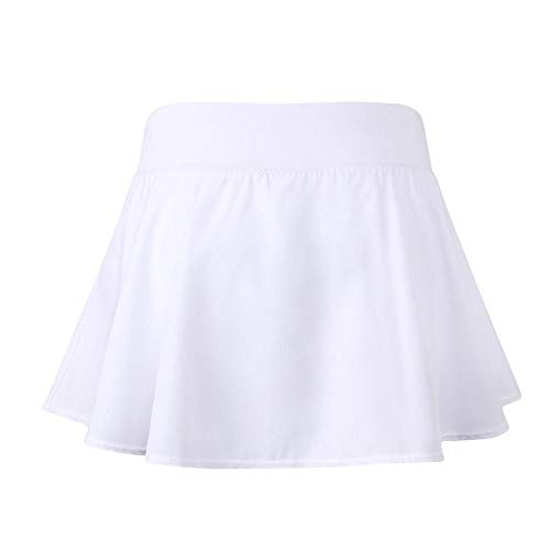 Yalatan Falda de tenis para mujer con falda para pantalones 2 en 1