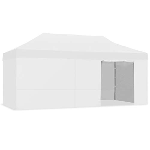 Kewayes CARPLE-3X6 GRIS CLARO Plegable Impermeable Exterior, Carpa Jardín de Plegado Fácil para Eventos, Fiestas al Aire Libre, Oscuro, 3x6m