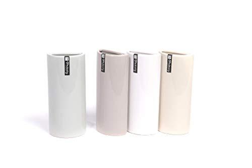 CLICSON ME30237 Set 6pz Umidificatore termosifoni evaporatore in Ceramica Bombati Lisci cm.18x8x4 Assortiti