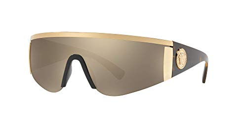 Versace Sonnenbrillen Tribute Collection VE 2197 Gold Havana/Brown Gold Unisex