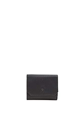 Esprit Accessoires Damen Wb_nell Ctywllt Geldbörse, Schwarz (Black), 2x9,5x12 cm