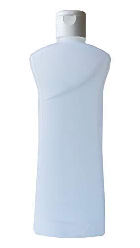 200 Flacons transparent vide de 1000 ml, avec bouchon reducteur, spécial conditionnement gels et huiles - fabrication française Livraison ultra rapide en France