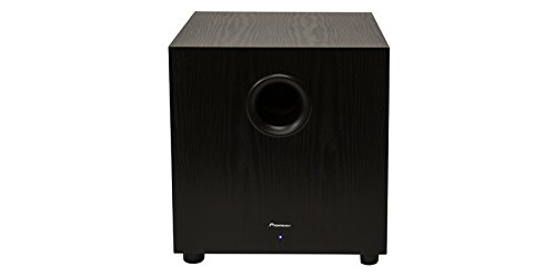 Pioneer SW-10 200W Powered Subwoofer, Black