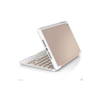 ZAGG Folio Hinged Case with Keyboard for Apple iPad Mini and Mini Retina - Rose Gold