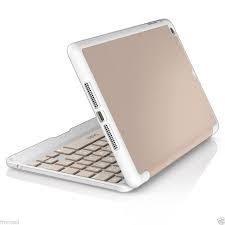 ZAGG Folio Hinged Case with Keyboard for Apple iPad Mini and Mini Retina - Rose Gold