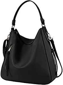Hobo Handbags for Women Large Waterproof Ladies PU Leather Shoulder...