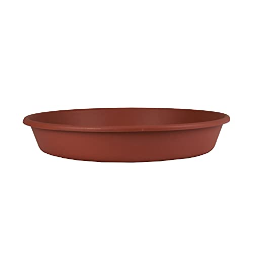 Classic Round Planter Saucer - The HC Companies 24-Inch Flower Pot Drip Trays...