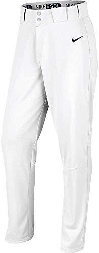 Nike Men's Pro Vapor Open Hem Baseball Pants 3XL, White