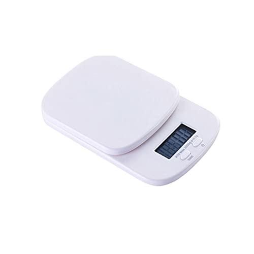 DEF Escala de Cocina Digital 0.1g Escala de Alimentos de Alta precisión 4.4lb / 2kg, hogar Pequeño Comida para cocinar con función de Tara